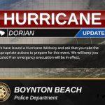 Hurricane Advisory v2 SC