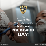 (October 18th) National No Beared Day-min