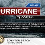 Hurricane Advisory v4 FL