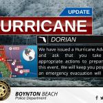 Hurricane Advisory v4 with Map