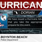 Hurricane Advisory v5 with Map