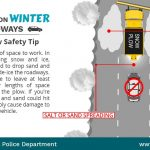 Driving on Winter Roadway Snow Plow Safety Tip v2