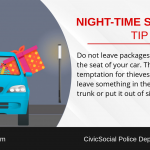 Night Time Shopping - Hide Packages Out Of Sight