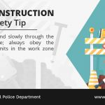 Road Construction Safety Tip