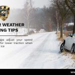 Winter Driving Safety Tips (Drive Slowly in the Snow)