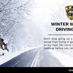 Winter Driving Safety Tip (Stopping On An Icy Hill)