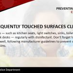 Preventing: Clean Surfaces v3