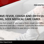 Preventing- If You Feel Sick