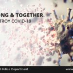 Stay Strong & Together We Will Destroy COVID19