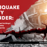 Earthquake Safety Reminder