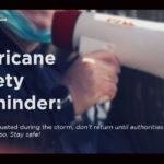Hurricane Safety Reminder