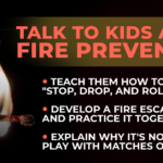Talk to Kids About Fire Prevention