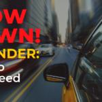 Stop Speeding v2