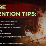 Six Fire Prevention Tips